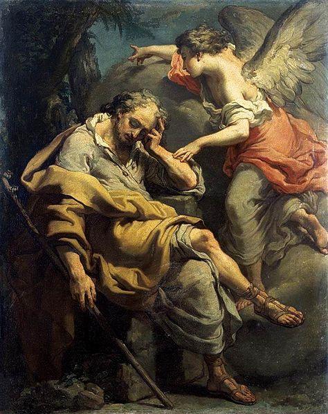 Gaetano Gandolfi (1734–1802), Sen Józefa, c. 1790