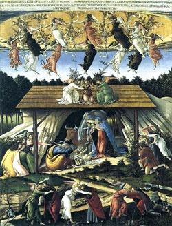 Alessandro di Mariano Filipepi (Sandro Botticelli), Mistyczne Boże Narodzenie, 1500