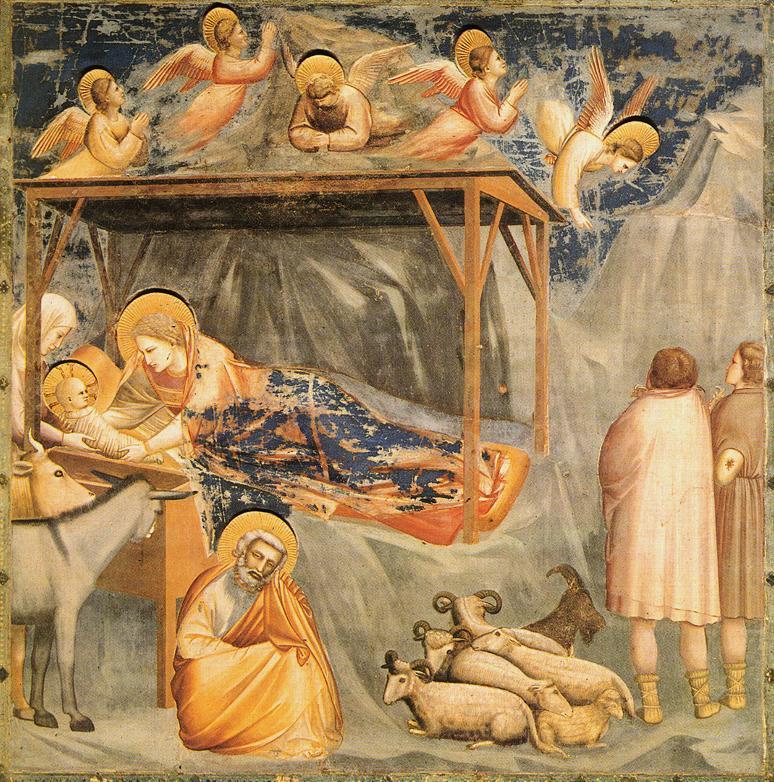 Giotto, Boże Narodzenie (ok. 1304)