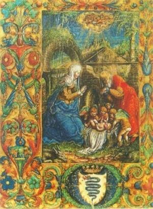 Stanisław Samostrzelnik (1485-1541) Adoracja Dzieciatka