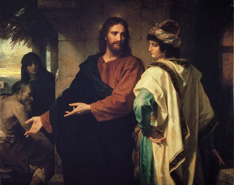 Chrystus i bogaty młodzieniec