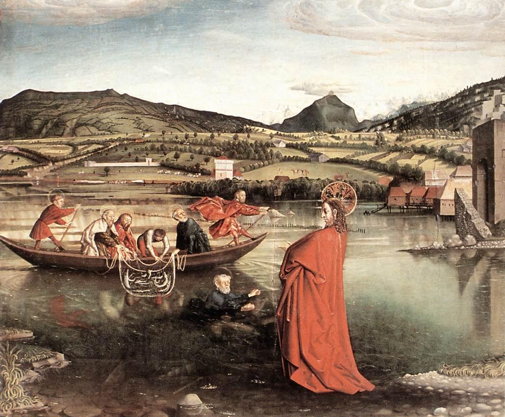 Konrad Witz, Cudowny połów, ok. 1444