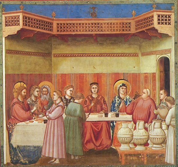 Giotto, Wesele w Kanie Galilejskiej