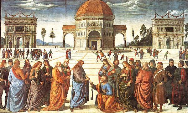 Wręczenie kluczy św. Piotrowi