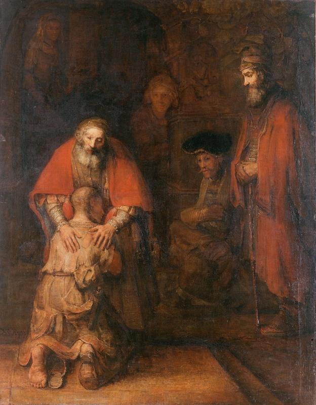 Rembrandt (1606–1669), Powrót syna marnotrawnego. 1668