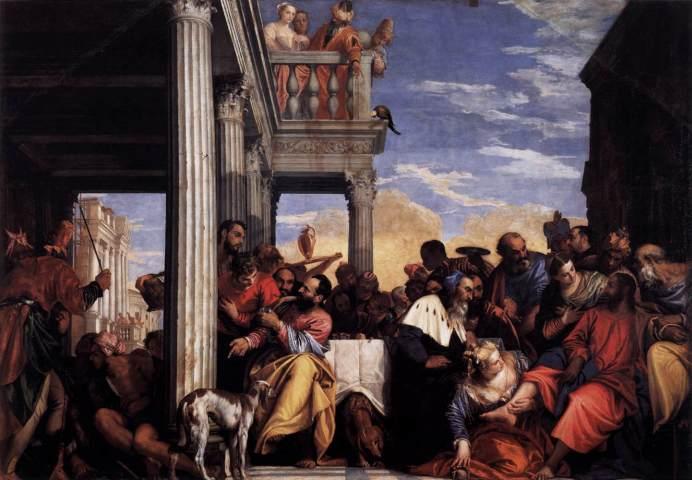 Uczta w domu Szymona faryzeusza