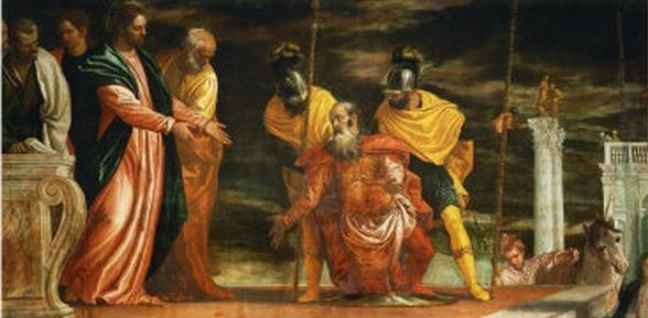 Paolo Veronese (1528-1588), Jezus uzdrawia sługę setnika
