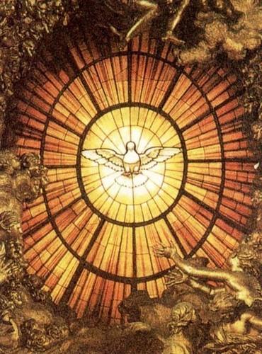 Giovanni Lorenzo Bernini (1598-1680), Duch Święty