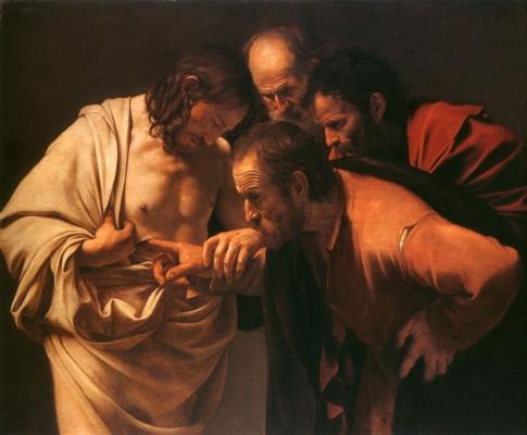Caravaggio, św. Tomasz