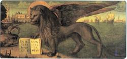 Vittore Carpaccio. Lew św. Marka