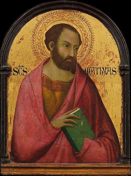 św. Maciej, Apostoł, Simone Martini, c.1317–1319