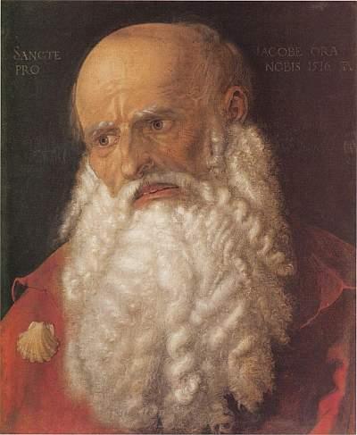 Albrecht Dürer, Jakub Apostoł, 1516